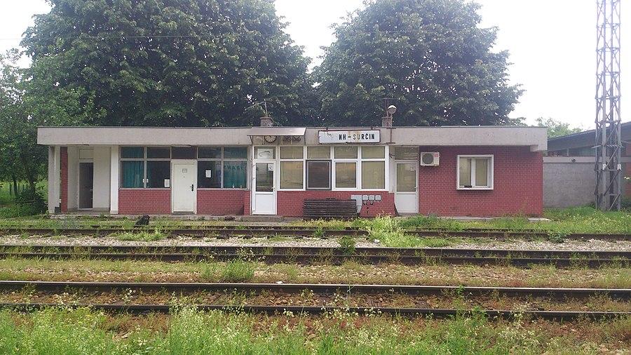 Surčin railway station