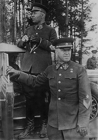 Жуков и Тимошенко, 1940 год