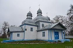 Кожанка. Миколаївська церква. 1758 р. Південний фасад.jpg