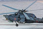 Ми-28 - Тренировочные полеты экипажей вертолетов армейской авиации Южного военного округа (аэр.Кореновск, Краснодарский край) 03.jpg