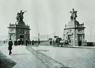 Libuše and Přemysl - 19th century photo