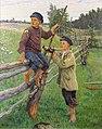Николай Богданов-Бельский - Страна мальчиков (1920-е г.).jpg