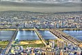 Панорама Осаки с высоты птичьего полёта (3).jpg