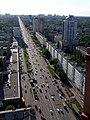 Проспект Победы на запад от Sky Towers.jpg