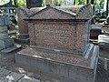 Санкт-Петербург, Лазаревское кладбище, могила Л. Эйлера.JPG