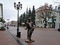 Скульптура купца на Большой Покровской - panoramio.jpg