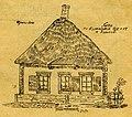 Старі хати Харкова. 1922. №38. Хата по Кузинській вул., ч. 17, в Харькові.jpg