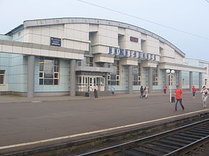 Nizhneudinsk - Nizhneudinsk Train Station