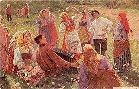 Ф. В. Сычков. Танец.
