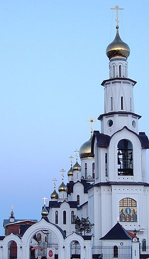 Surgut - Transfiguration Cathedral in Surgut