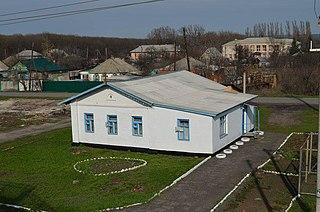 Krasny Sulin Town in Rostov Oblast, Russia