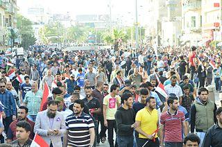 2015–2016 Iraqi protests Iraqi protests