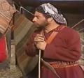 صورة للفنان الاردني القدير داوود جلاجل في المسلسل البدوي (الصقر) -عام 1990 م 2014-05-17 05-18.png