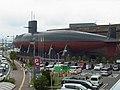 てつのくじら館 AKISHIO, submarine for exhibition - panoramio.jpg