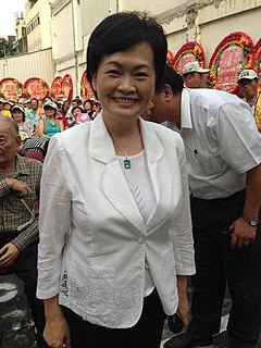 Chang Wen-ying Mayor of Taichung