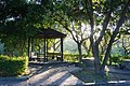 晨光裡的關山親水公園 Rays of the Morning Sun Shinging at Guanshan Water Park - panoramio.jpg