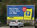 -2020-10-09 Billboard, Lidl car park, Lidl supermarket, Cromer.JPG