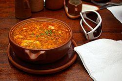 Garlic soup - Wikipedia, the free encyclopedia