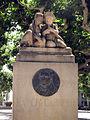 011 Monument a Ramon Carnicer, a la plaça del Carme.jpg