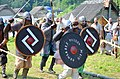 02018 0570 Wikinger Reenactment-Gruppen des 11.Jahrhunderts, Jomsborg -Trzcinica.jpg