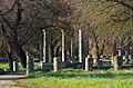 02 2020 Grecia photo Paolo Villa FO199973 (Olimpia parco archeologico - palestra colonne ordine dorico - alberi - - gym columns doric order - trees).jpg
