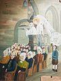 034 RP Cariou taolen 4 Michel Le Nobletz prêchant dans une chapelle de Douarnenez.JPG