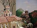 042 Maqueta del poble de Mont-roig del Camp al Centre Miró, església de Sant Miquel.jpg