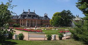 Calandro - Schloss Pillnitz, where the opera premiered in 1726