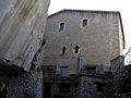 079 Casa del priorat de Sant Miquel del Fai, façana nord, vora el cingle.JPG