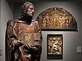 082 Sant Llàtzer, de Felipe Bigarny, i relleus renaixentistes (Museu Frederic Marès, Barcelona).jpg