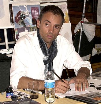 Alex Maleev - Maleev at the Big Apple Convention in Manhattan, October 2, 2010.
