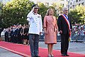 11 Marzo 2018, Ministra Cecilia Perez participa en la llegada del Prdte. Sebastian Piñera a La Moneda. (40046397944).jpg