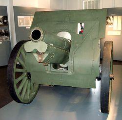 122-мм гаубица образца 1910/30 годов в финском музее Hameenlinna