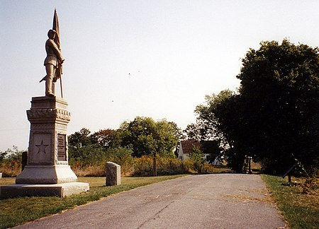 125th Pennsylvania Monument and Dunker Church