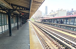 125th Street (IRT Broadway–Seventh Avenue Line) - Image: 125th Street Platforms