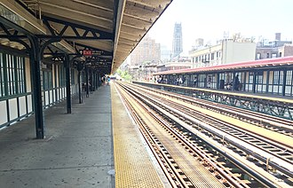 125th Street (IRT Broadway–Seventh Avenue Line) - Image: 125th Street Platforms