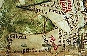 Pietro Vesconte´s map