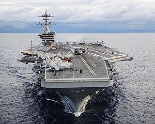 USS <i>Theodore Roosevelt</i> (CVN-71) US Navy Nimitz-class aircraft carrier