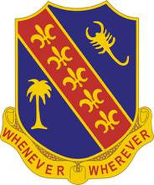 148th Field Artillery Regiment - Image: 148 FA Rgt DUI