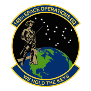 148th Space Operations Squadron - 148th Space Operations Squadron emblem