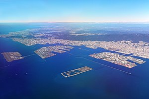 Port of Kobe - Port of Kobe from the sky