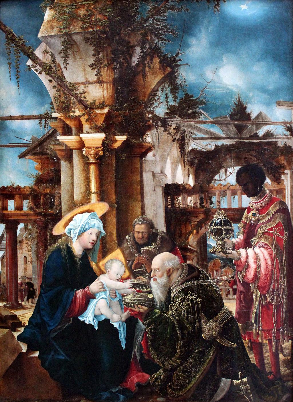 1533 Altdorfer Anbetung der Könige anagoria