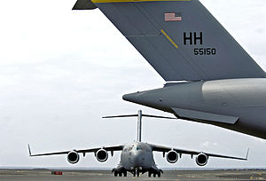 Thirteenth Air Force - Image: 15og c 17 globemasters