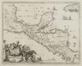 1671 Montanus Yucatan map.png