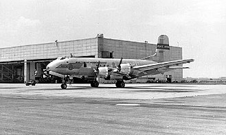 Brookley Air Force Base - 1701st Air Transport Wing Douglas C-74 Globemaster at Brookley AFB in the early 1950s
