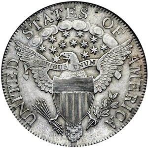 E pluribus unum - Half Dollar (reverse), 1807