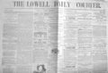 1861 Lowell Daily Courier MassachusettsNov7 detail.png