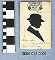 1904 World's Fair Souvenir Silhouette of Unidentified Man.jpg