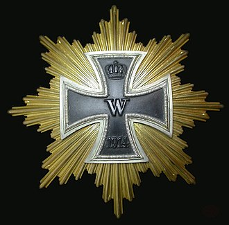Star of the Grand Cross of the Iron Cross - Image: 1914Grand Cross Star