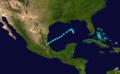 1924 Atlantic tropical storm 9 track.png